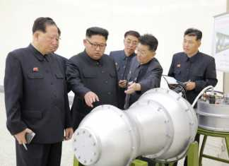 North Korea Hydrogen Bomb