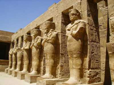The Karnak Temple Complex in Egypt